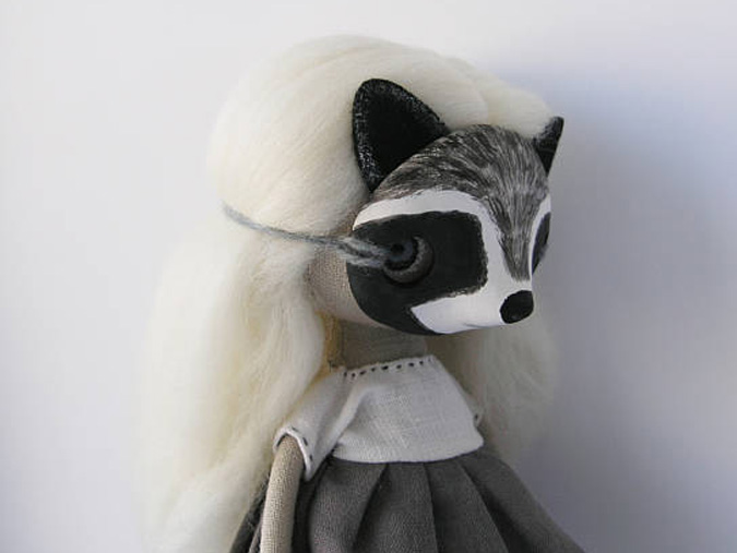 racoon doll