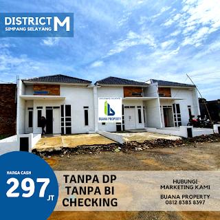 Rumah Murah Tanpa DP - Tanpa Bunga - Tanpa BI Checking - Simpang Selayang Medan | District M
