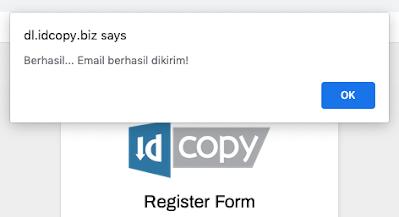 Registrasi Berhasil