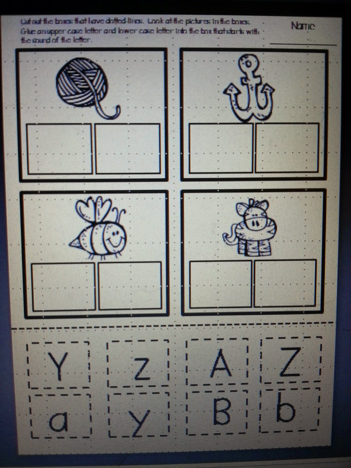 First Grade Funtastic It S Summer Alphabet Rhyming And A Freebie