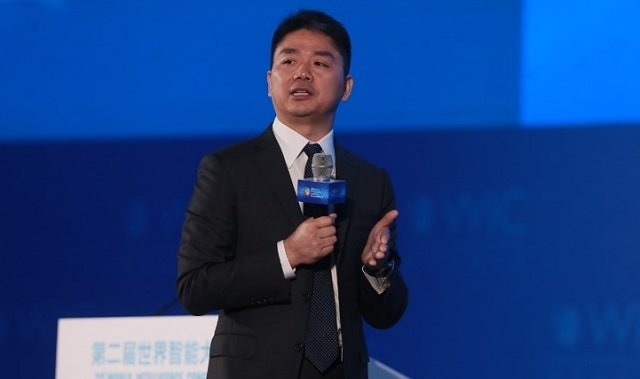liu quiangdong jd.com ceo china logistics