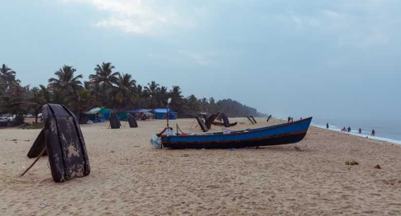 Marari beach in kerala India