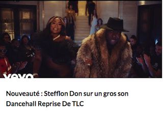 Stefflon Don sur un Gros son Dancehall Reprise de TLC