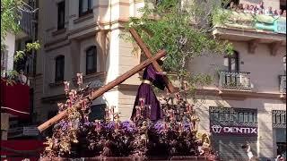 Primera entrada en Campada del Nazareno del Cerro en la Semana Santa de Sevilla 2019