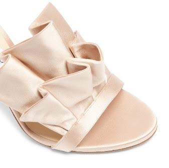 Jimmy Choo Satin High Heeled Sandals