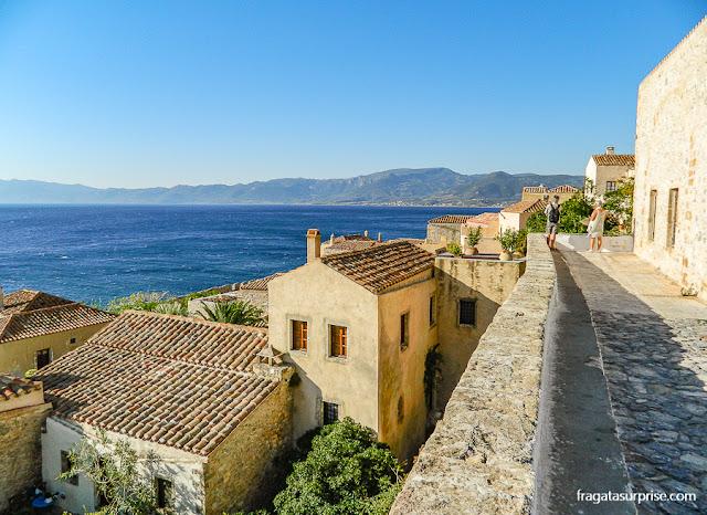 Vila medieval de Monemvasia, Grécia