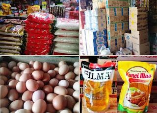 agen beras, minyak goreng, gula, telur, tepung, aqua dll Sidoarjo