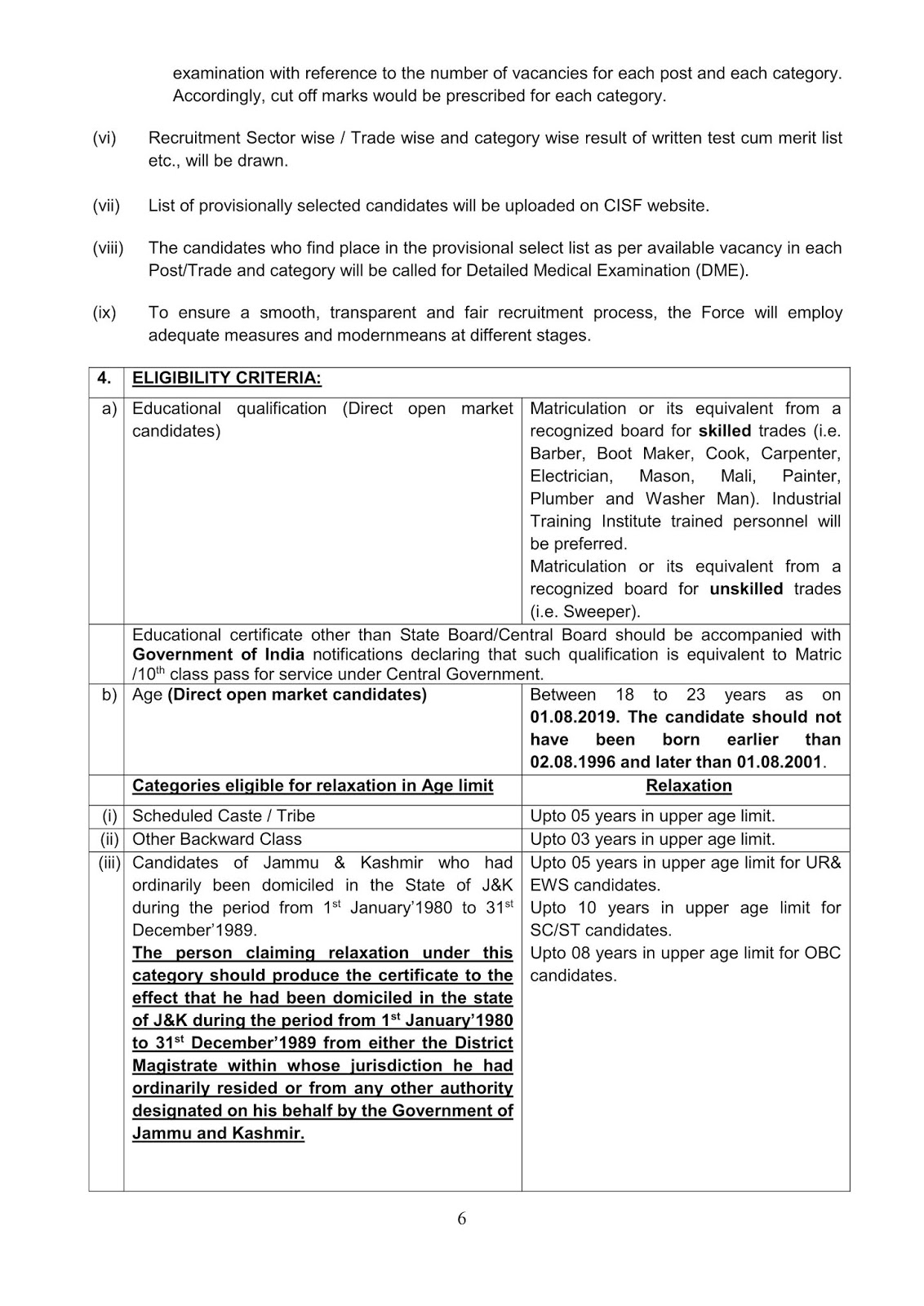 Notification-CISF-Constable-Tradesmen-Posts_6