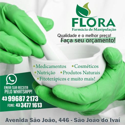 FLORA - PEGOU A RECEITA COM O MÉDICO, TRAGA PARA NÓS!