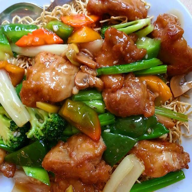Receta de Pollo con Verduras Oriental