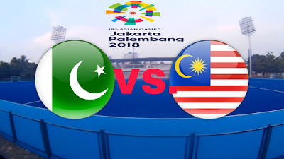 Live Streaming Pakistan vs Malaysia Hoki Sukan Asia 26.8.2018