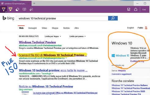 Novità browser Edge Windows 10 note pagina web