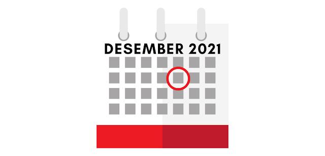 Tanggal Merah Bulan Desember 2021