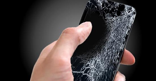É só esfregar que a tela quebrada do celular volta a ficar novinha!