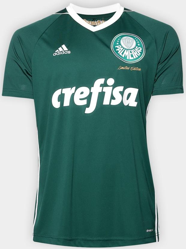Adidas lança edição limitada de camisa do Palmeiras - Show de Camisas b92626ee09fb8