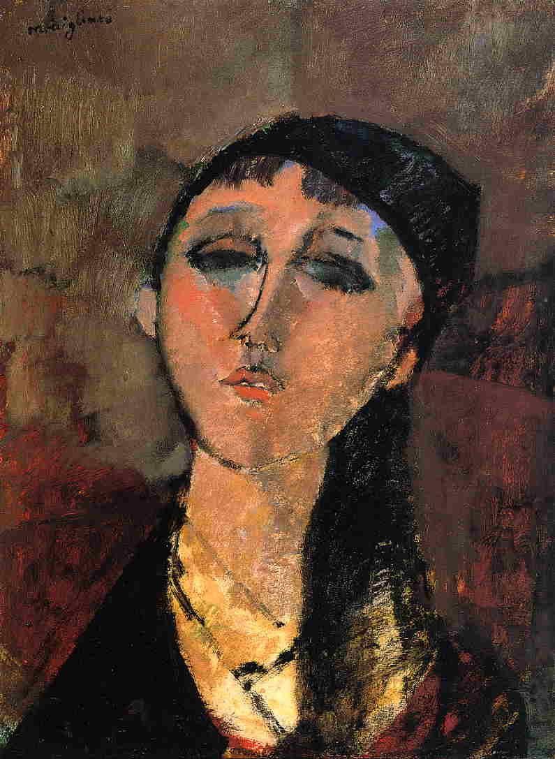 Amedeo Modigliani (1884-1920) , Madame Hanka Zborowska