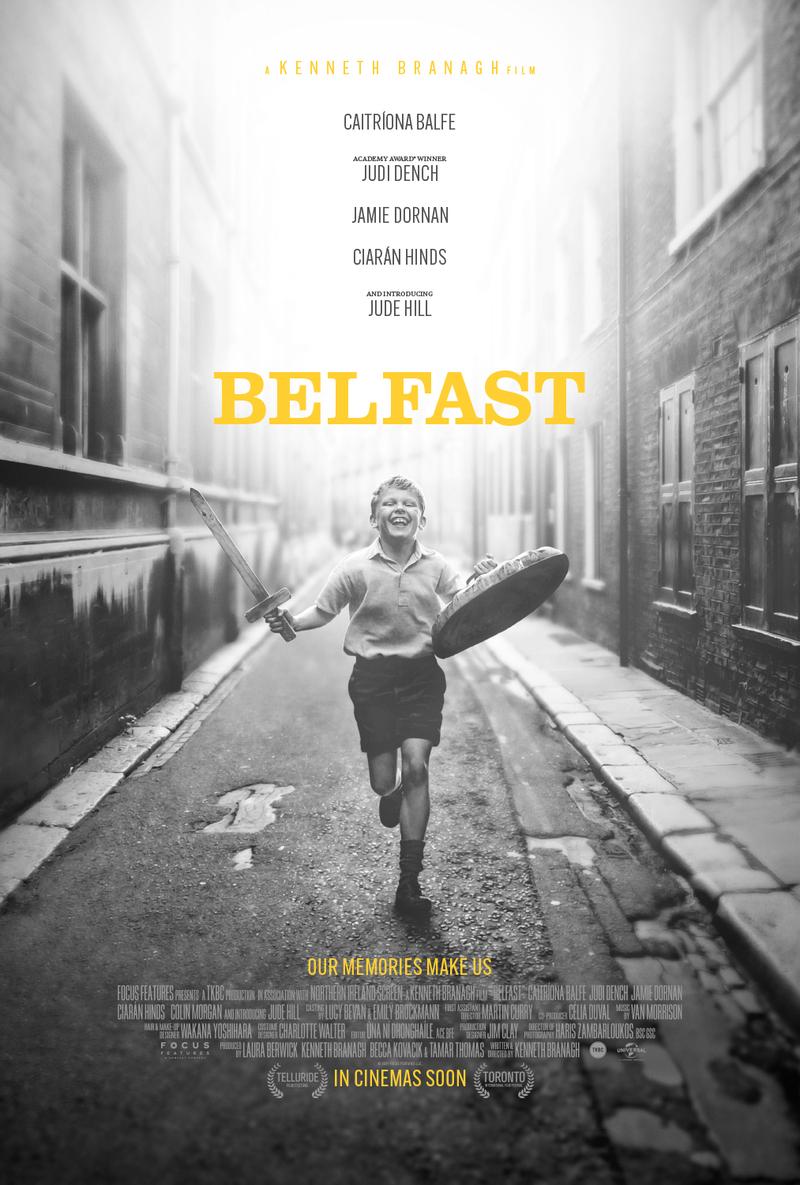 belfast film poster