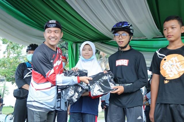 Sekda Kota Palembang Ratu Dewa Ajak Pemuda Kreatif dan Beraktivitas Positif