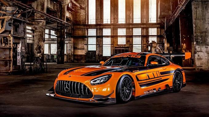 Papel de Parede Mercedes AMG GT3