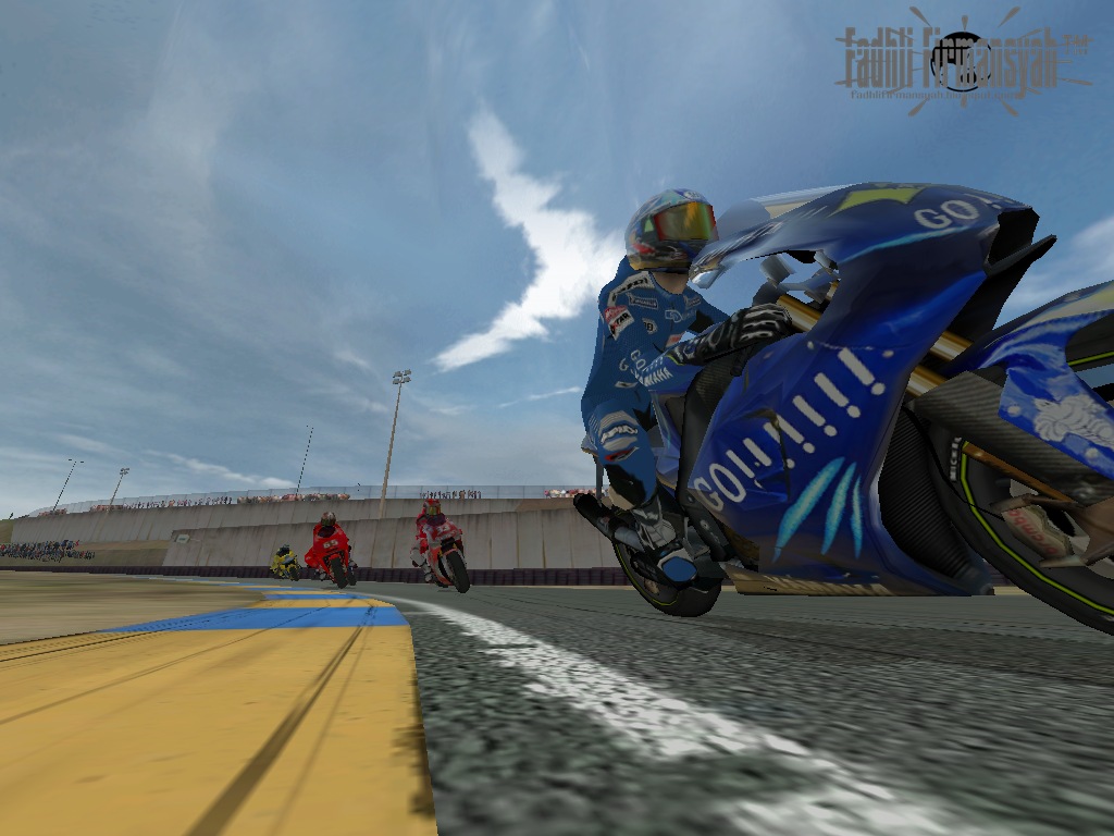 Download MotoGP 3 URT Highly Compressed PC - fadhlifirm