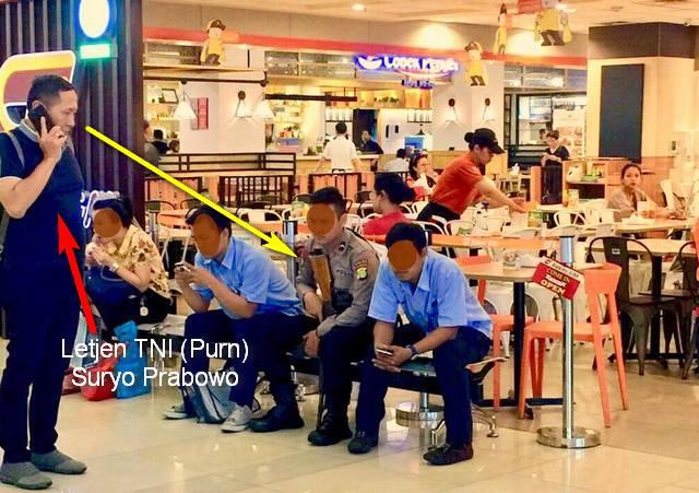 Mantan Kastaf Umum TNI Heran Pengamanan Mall Oleh Polri Kok Pakai Senapan Serbu AK-101?