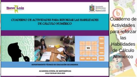 Cuaderno de Actividades para reforzar las Habilidades de Cálculo Numérico