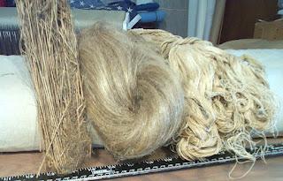flax fibre images