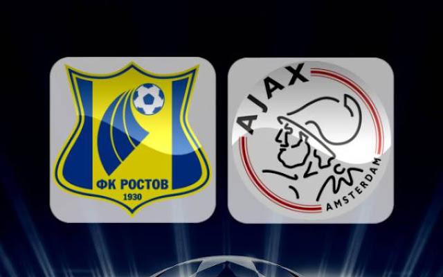 FC Rostov vs Ajax Amsterdam