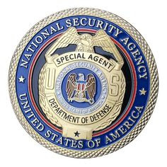 National Security Agency USA Badge