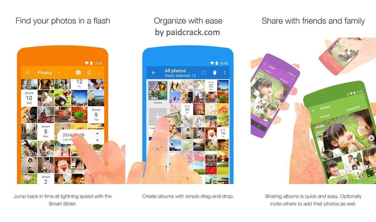Scene: Organize & Share Photos Premium Mod Apk 8.2.2