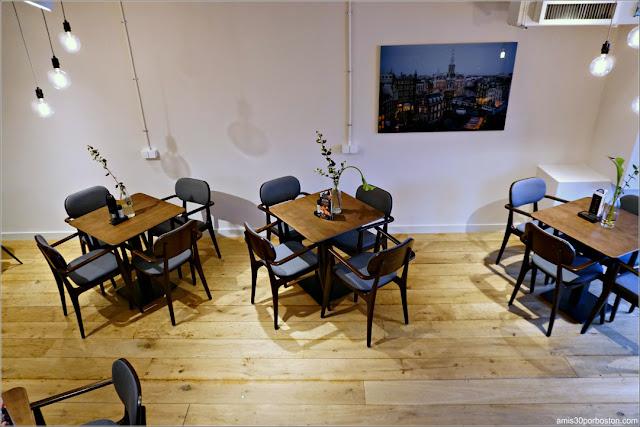 Salón de Té de La Place en Amsterdam