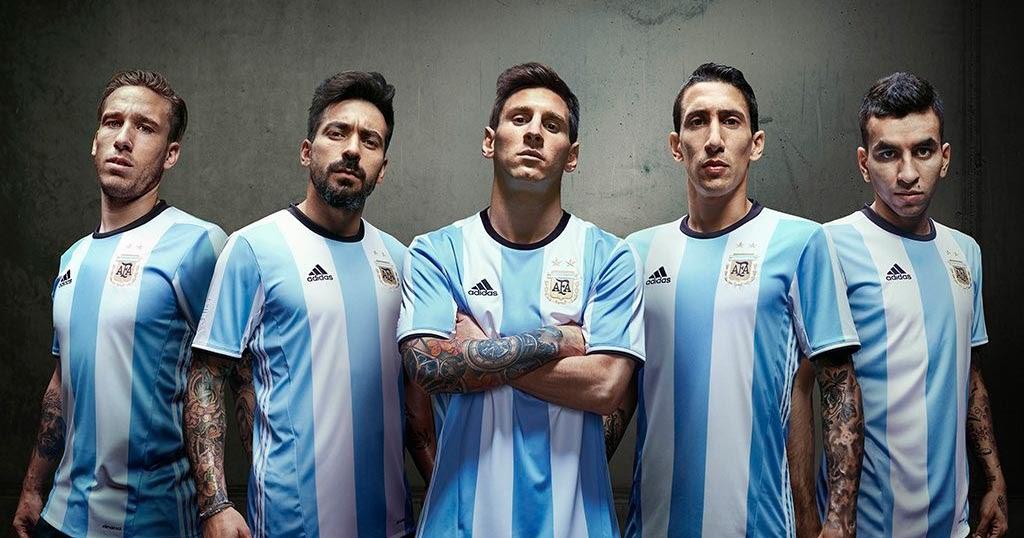 argentina 2016 copa america kit released footy headlines