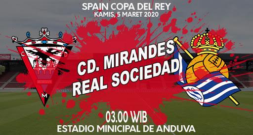 Prediksi Bola AKURAT Mirandes vs Real Sociedad 5 Maret 2020 - Prediksi Sepak Bola Akurat ...