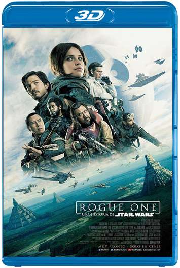 Rogue One: Una historia de Star Wars (2016) 3D SBS Latino