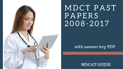 mdcat past papers pdf with answer key