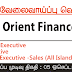 Vacancy In Orient Finance PLC