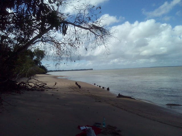 Hattes Beach, French Guiana, Hattes, Beach, French, Guiana