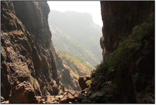Sandhan valley, EXIT VIEW