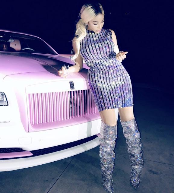 Dencia vs Keyshia Koir: Who rocked this $3,980 Gucci embroidered dressed better