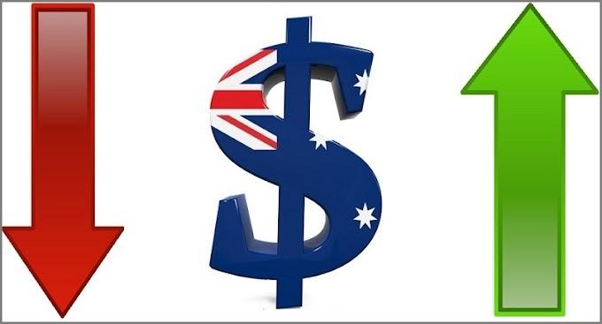 حركه منتظره على الدولار الاسترالى تزامنا مع معدلات التوظيف والبطاله الأستراليه