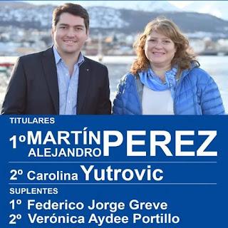 Yutrovic asumira como diputada por Martin Perez