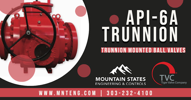 API-6A Trunnion Mounted Ball Valves