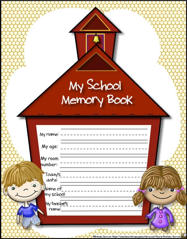 Everyday Teaching 2 Go New Kindergarten Memory Book