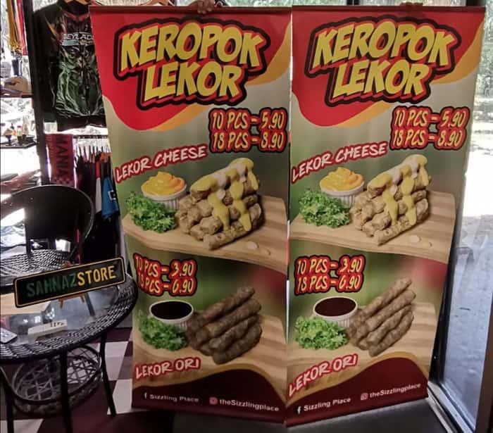 banner vertikal warung makan