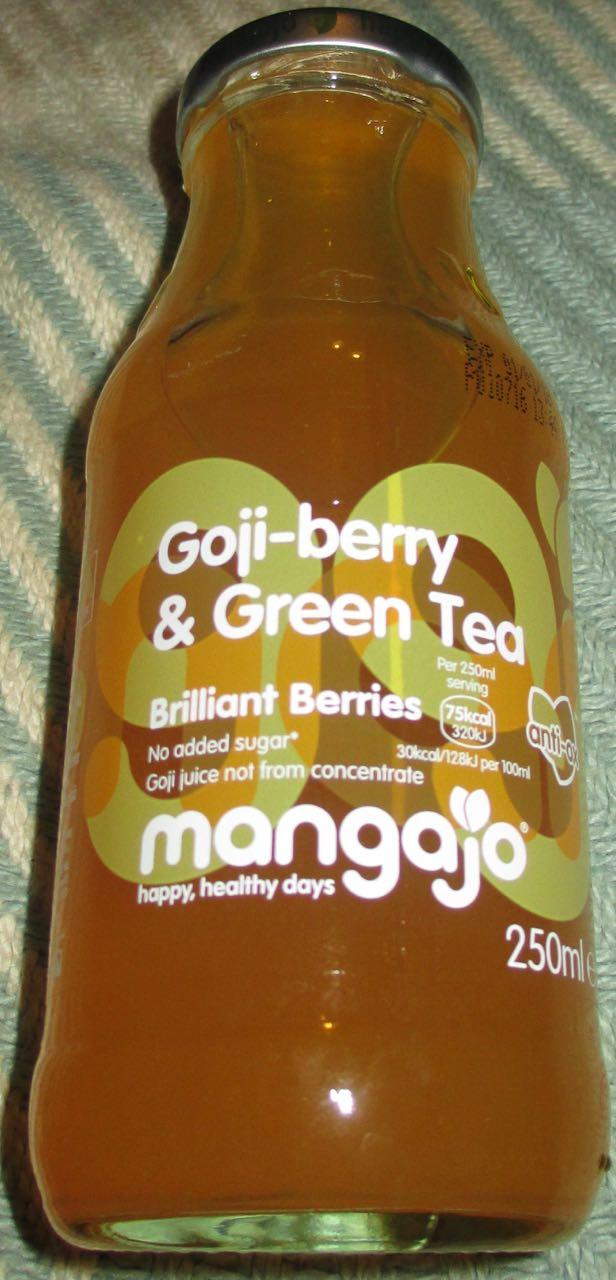 Foodstuff Finds Mangajo Goji Berry Green Tea Waitrose By