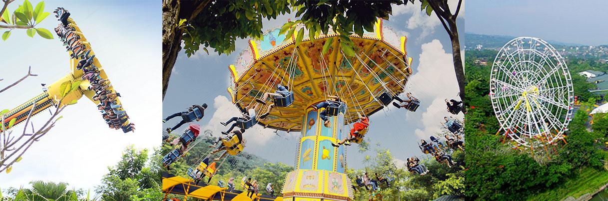 jungleland, jungleland sentul, taman bermain jawa barat, theme park