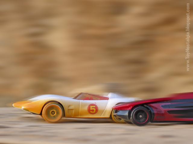 MACH 5 - version Desert Rally - METEORO - HotWheels  (METEORO - SPEED RACER - MACH Go Go Go)