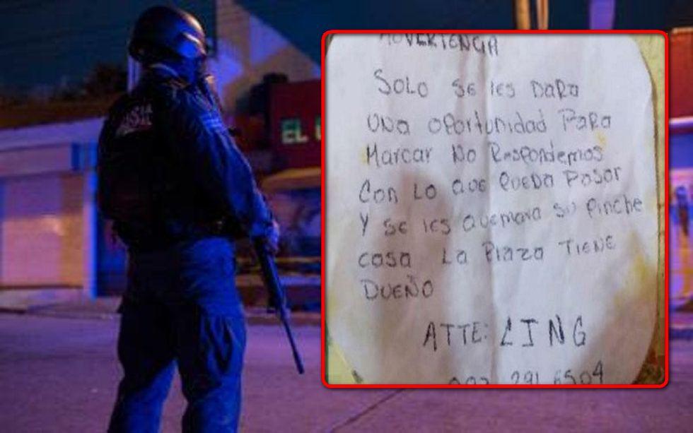 """""""Se les quemará su pinche casa""""... Cártel Jalisco Nueva Generación amenaza a locatarios que no paguen """"derecho de piso"""" en Coatzacoalcos"""