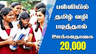 Scholarship will be given for Tamil Medium Students – Minister Sengottaiyan