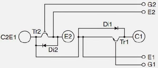 inverter schematics circuit diagrams how to test thyristor module